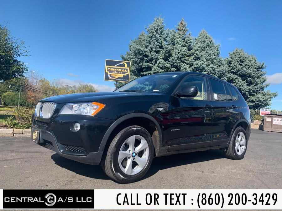 Used BMW X3 AWD 4dr 28i 2011 | Central A/S LLC. East Windsor, Connecticut