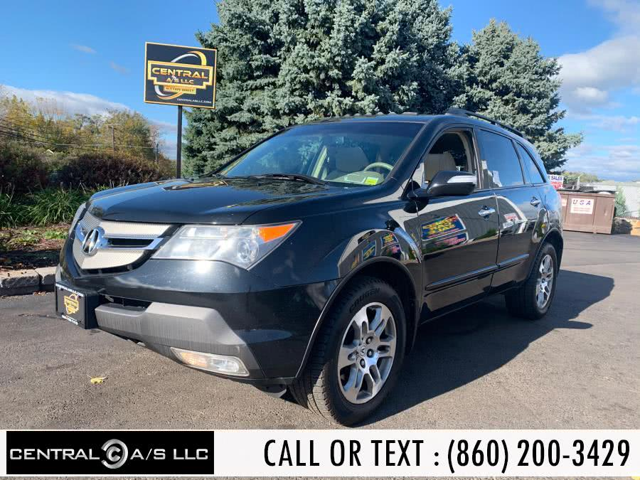 Used Acura MDX 4WD 4dr 2008 | Central A/S LLC. East Windsor, Connecticut