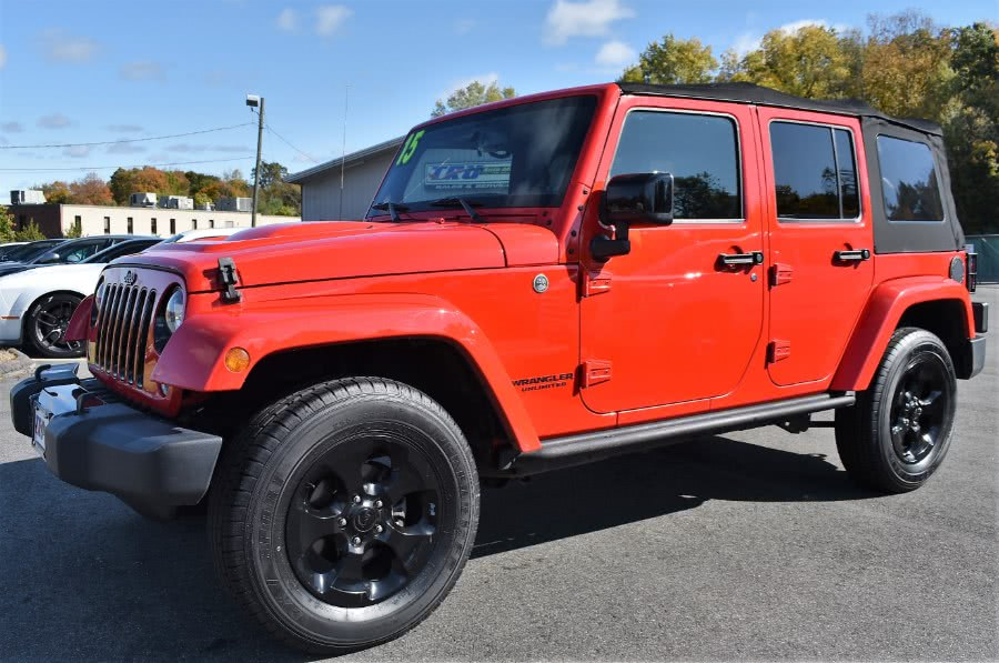 Used 2015 Jeep Wrangler Unlimited in Berlin, Connecticut | Tru Auto Mall. Berlin, Connecticut