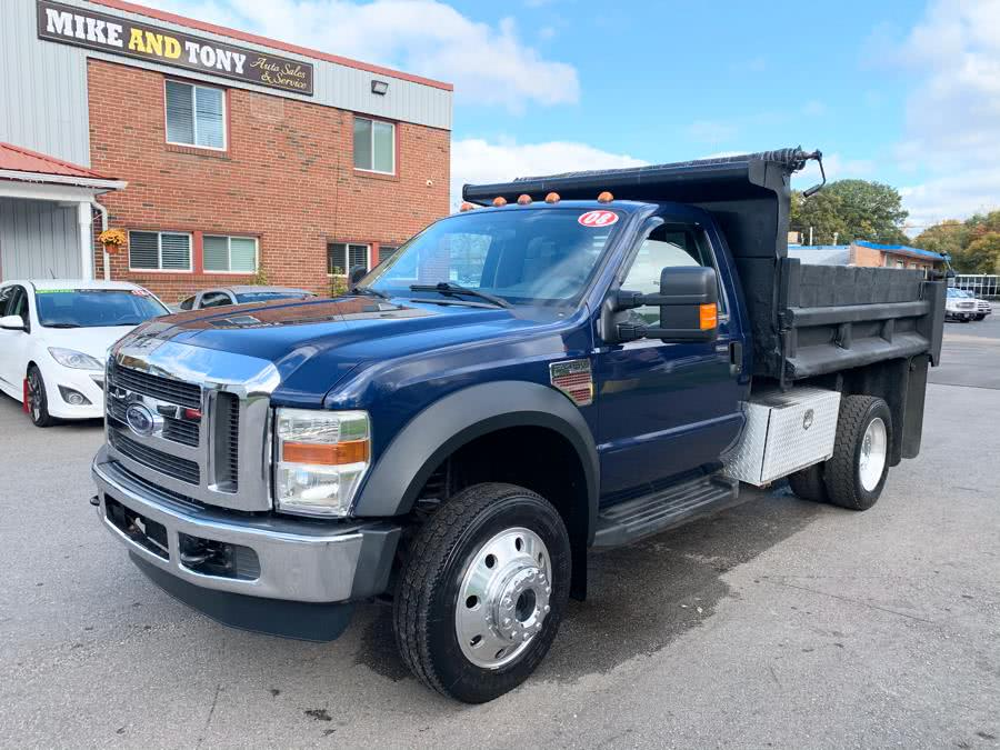 Used 2008 Ford Super Duty F-450 DRW in South Windsor, Connecticut | Mike And Tony Auto Sales, Inc. South Windsor, Connecticut