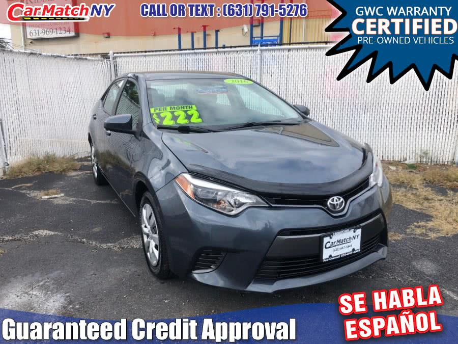 Used 2016 Toyota Corolla in Bayshore, New York | Carmatch NY. Bayshore, New York