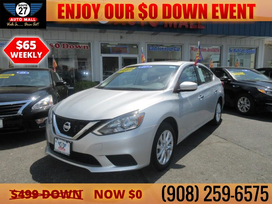 Used 2017 Nissan Sentra in Linden, New Jersey | Route 27 Auto Mall. Linden, New Jersey