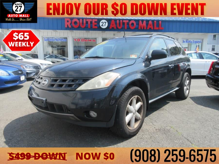 Used 2005 Nissan Murano in Linden, New Jersey | Route 27 Auto Mall. Linden, New Jersey