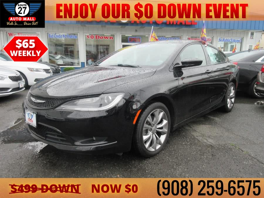 Used 2015 Chrysler 200 in Linden, New Jersey | Route 27 Auto Mall. Linden, New Jersey