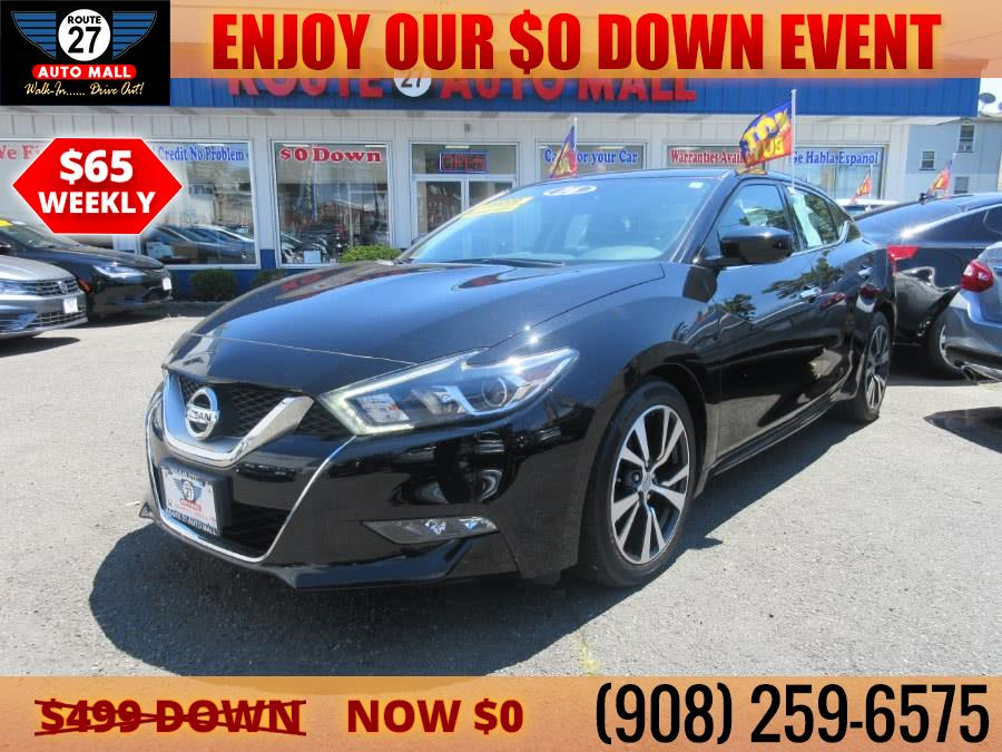 Used 2016 Nissan Maxima in Linden, New Jersey | Route 27 Auto Mall. Linden, New Jersey