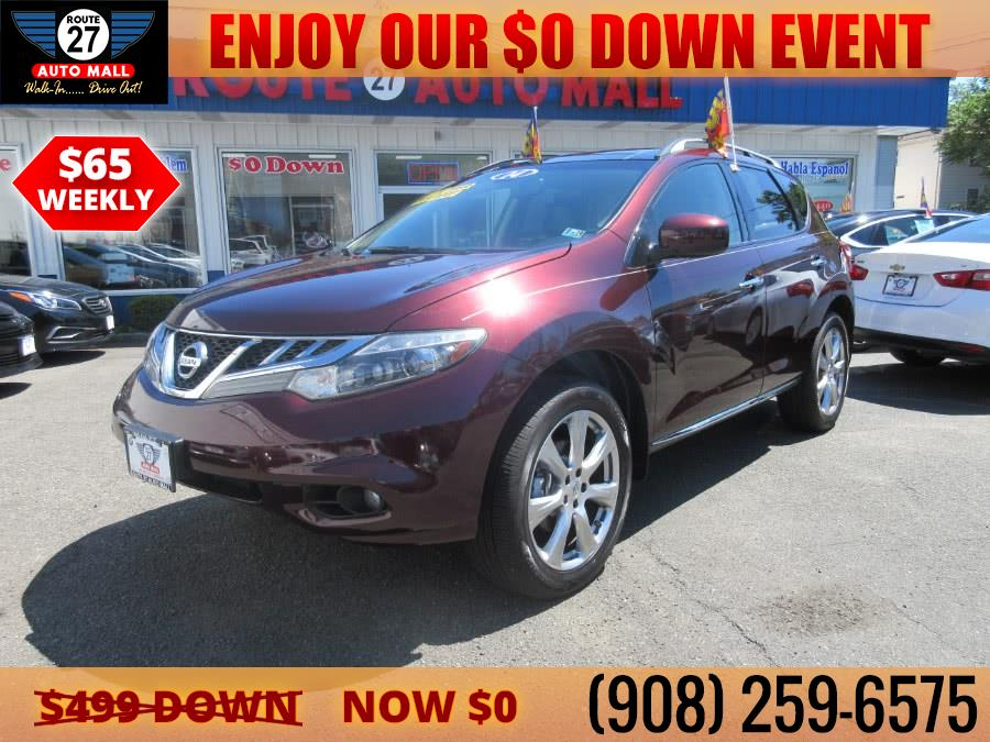Used 2014 Nissan Murano in Linden, New Jersey | Route 27 Auto Mall. Linden, New Jersey