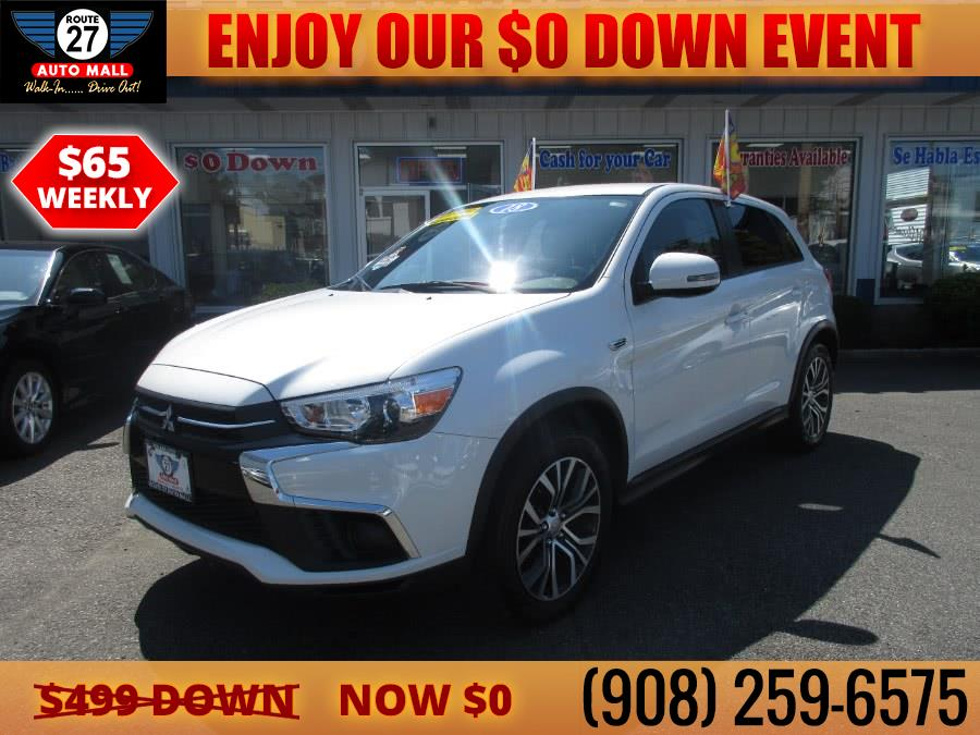 Used 2018 Mitsubishi Outlander Sport in Linden, New Jersey | Route 27 Auto Mall. Linden, New Jersey