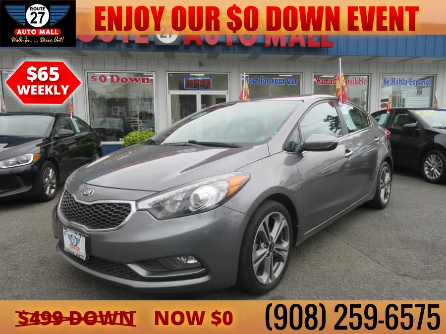 Used 2016 Kia Forte in Linden, New Jersey | Route 27 Auto Mall. Linden, New Jersey