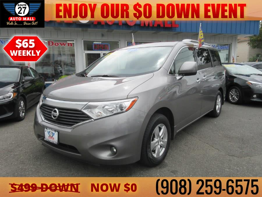 Used 2013 Nissan Quest in Linden, New Jersey | Route 27 Auto Mall. Linden, New Jersey