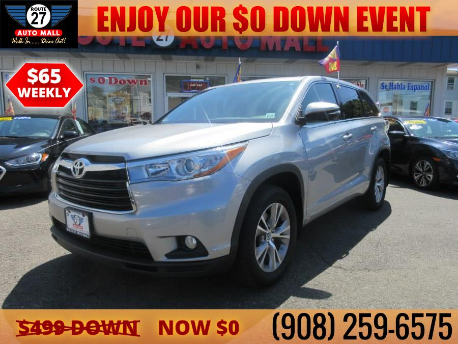Used 2016 Toyota Highlander in Linden, New Jersey | Route 27 Auto Mall. Linden, New Jersey