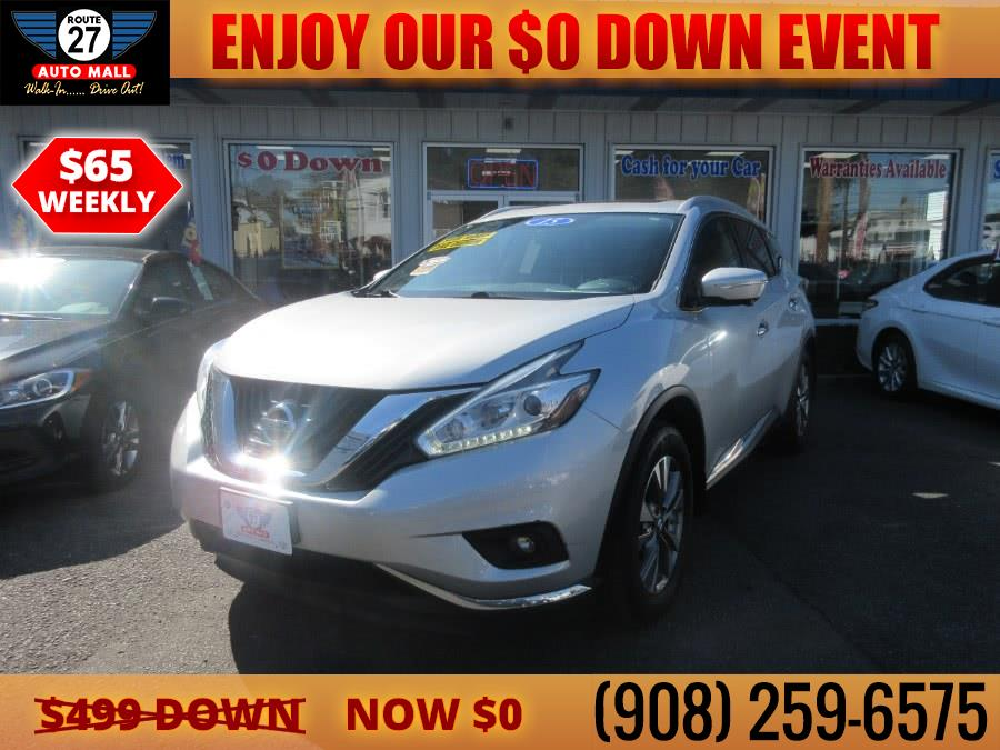 Used 2015 Nissan Murano in Linden, New Jersey | Route 27 Auto Mall. Linden, New Jersey