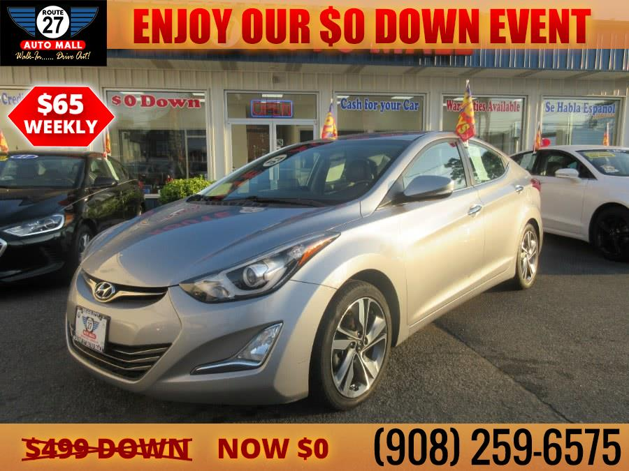Used 2015 Hyundai Elantra in Linden, New Jersey | Route 27 Auto Mall. Linden, New Jersey