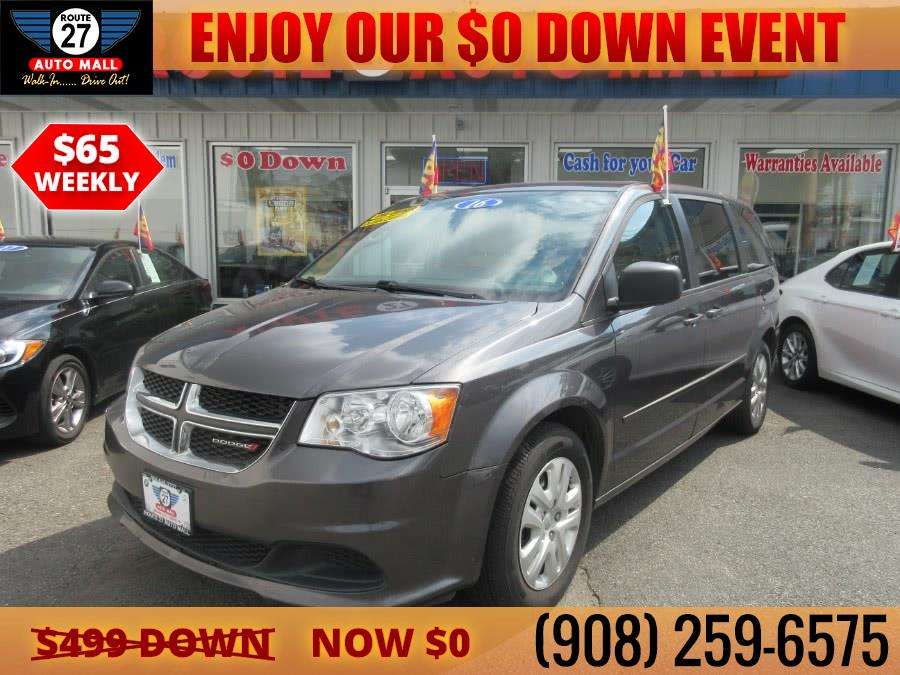 Used 2016 Dodge Grand Caravan in Linden, New Jersey | Route 27 Auto Mall. Linden, New Jersey