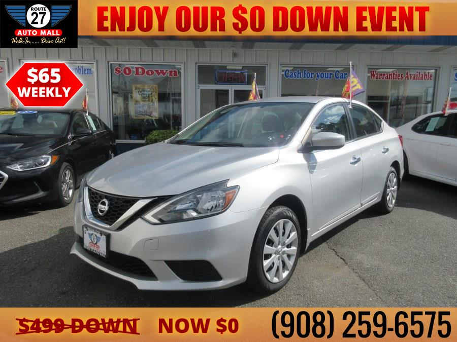Used 2016 Nissan Sentra in Linden, New Jersey | Route 27 Auto Mall. Linden, New Jersey