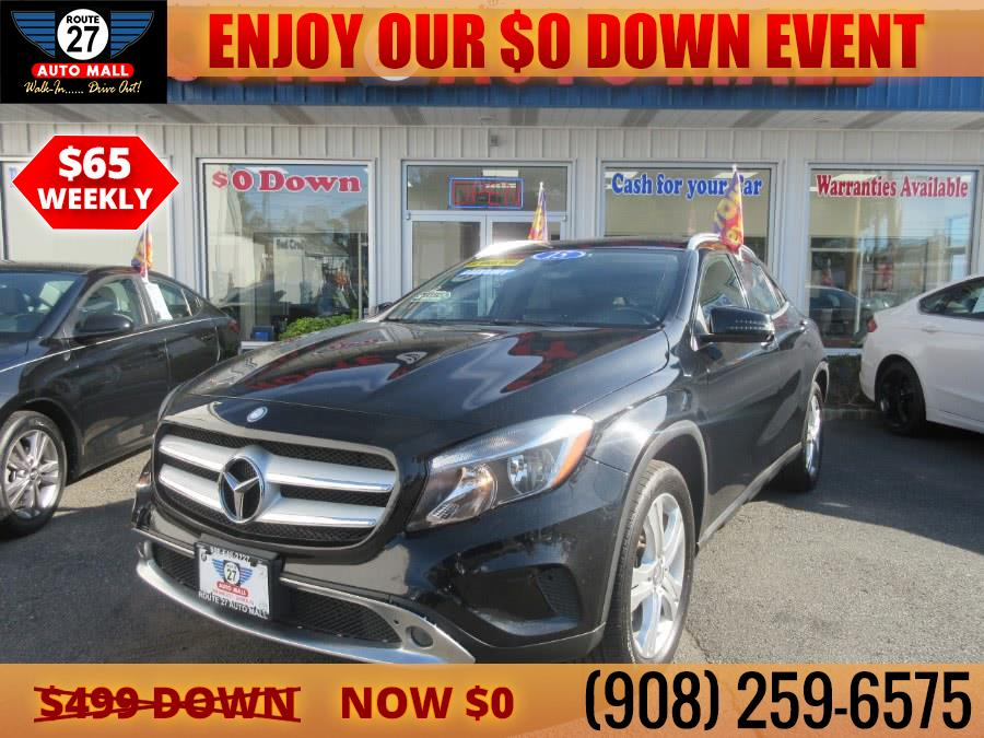 Used 2015 Mercedes-Benz GLA-Class in Linden, New Jersey | Route 27 Auto Mall. Linden, New Jersey