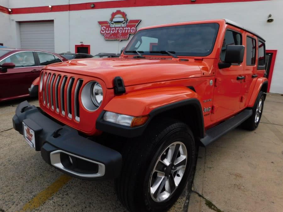 Used 2019 Jeep Wrangler Unlimited in Elizabeth, New Jersey | Supreme Motor Sport. Elizabeth, New Jersey