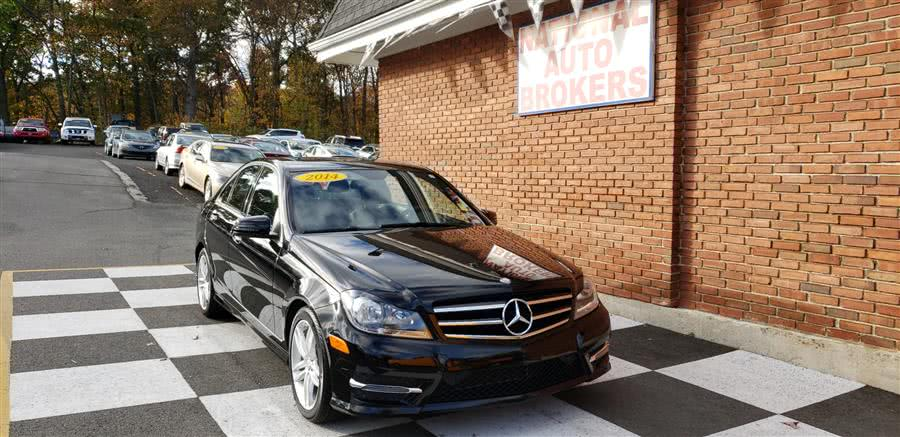 Used Mercedes-Benz C-Class 4dr Sdn C300 Luxury 4MATIC 2014 | National Auto Brokers, Inc.. Waterbury, Connecticut