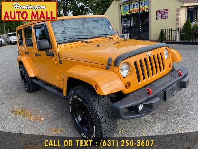 Used 2012 Jeep Wrangler Unlimited in Huntington Station, New York | Huntington Auto Mall. Huntington Station, New York