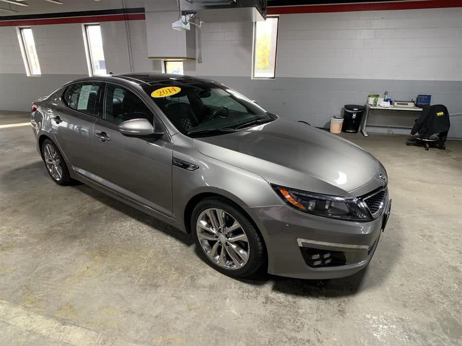 Used Kia Optima 4dr Sdn SXL Turbo 2014 | Wiz Leasing Inc. Stratford, Connecticut