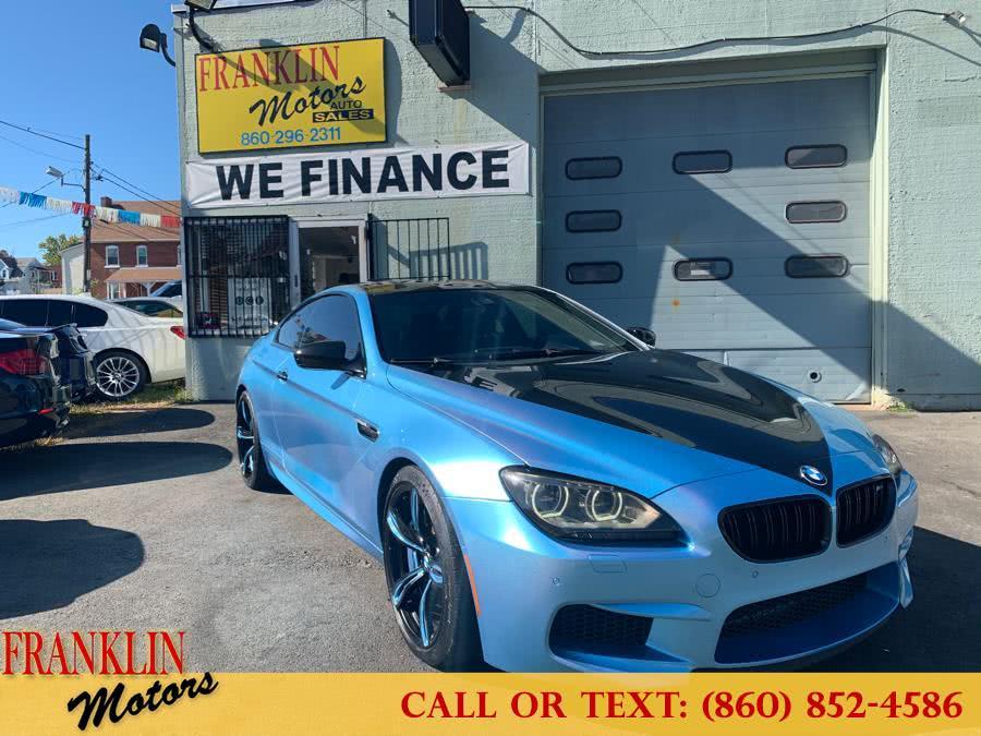 Used 2013 BMW M6 in Hartford, Connecticut | Franklin Motors Auto Sales LLC. Hartford, Connecticut