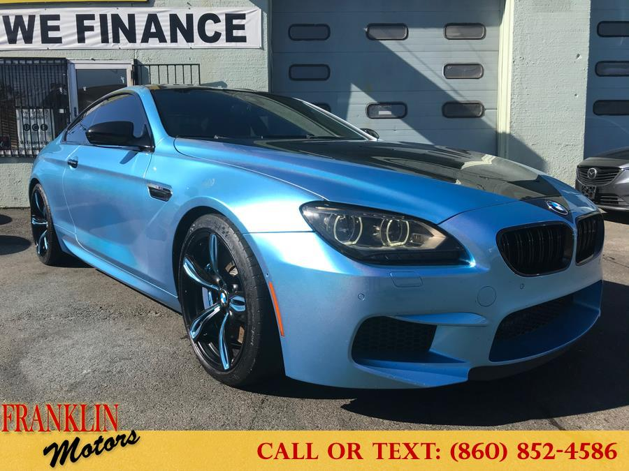 Used BMW M6 2dr Cpe 2013   Franklin Motors Auto Sales LLC. Hartford, Connecticut
