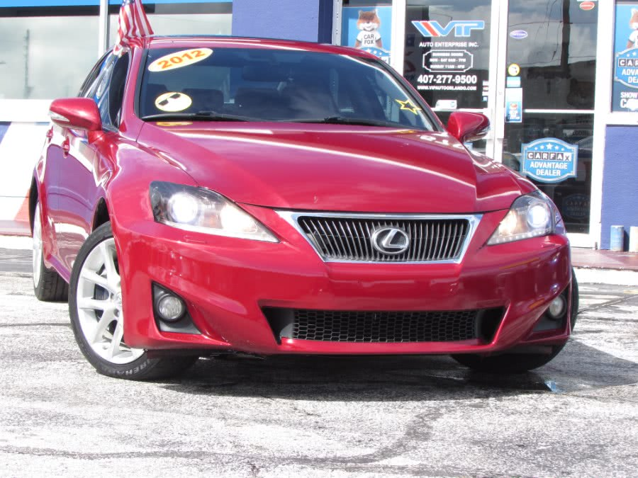 Used Lexus IS 350 4dr Sdn AWD 2012 | VIP Auto Enterprise, Inc. Orlando, Florida