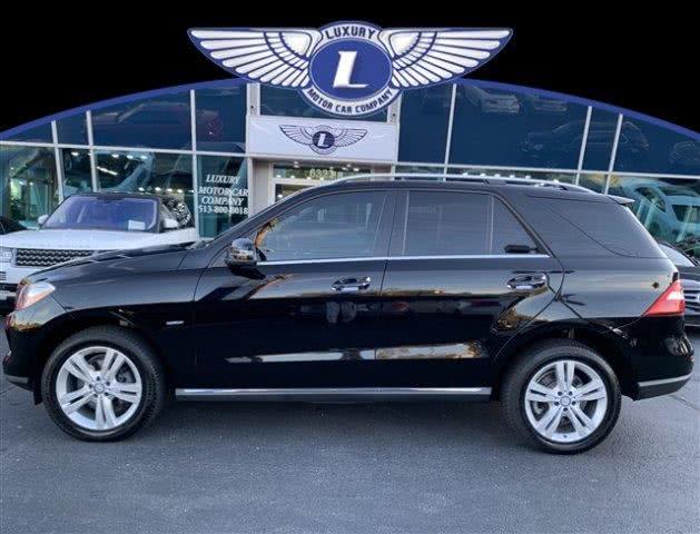 Used 2012 Mercedes-benz M-class in Cincinnati, Ohio | Luxury Motor Car Company. Cincinnati, Ohio