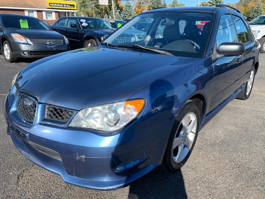 2007 Subaru Impreza Wagon 4dr H4 AT i, available for sale in East Windsor, Connecticut | A1 Auto Sale LLC. East Windsor, Connecticut