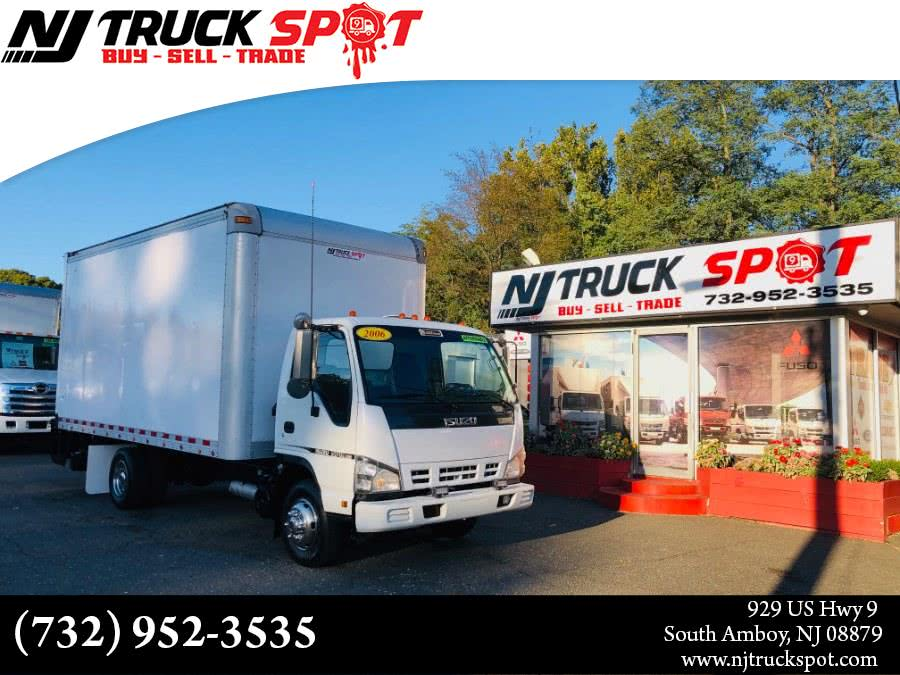 Used ISUZU NPR 16 FEET DRY BOX + LIFT GATE 2006 | NJ Truck Spot. South Amboy, New Jersey