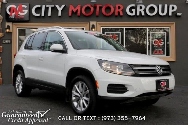 Used 2017 Volkswagen Tiguan in Haskell, New Jersey | City Motor Group Inc.. Haskell, New Jersey