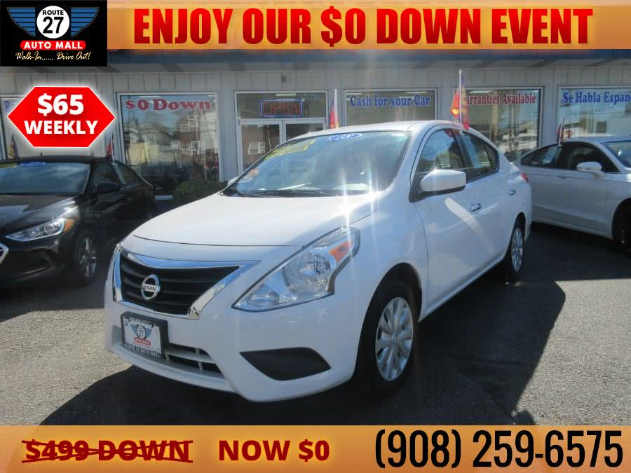 Used 2018 Nissan Versa Sedan in Linden, New Jersey | Route 27 Auto Mall. Linden, New Jersey
