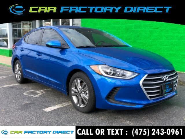Used 2017 Hyundai Elantra in Milford, Connecticut | Car Factory Direct. Milford, Connecticut