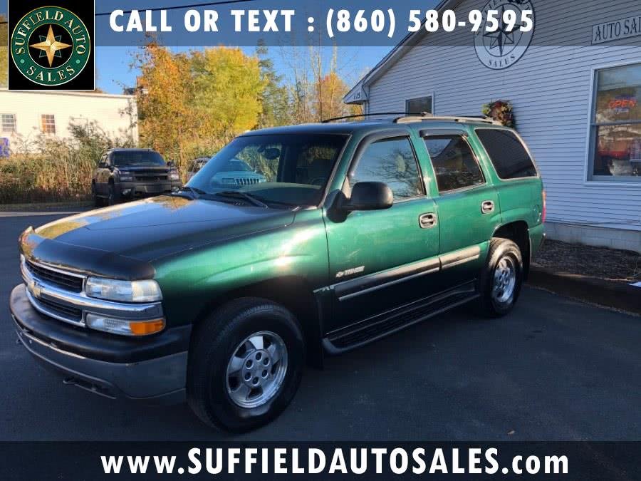 Used 2003 Chevrolet Tahoe in Suffield, Connecticut | Suffield Auto Sales. Suffield, Connecticut