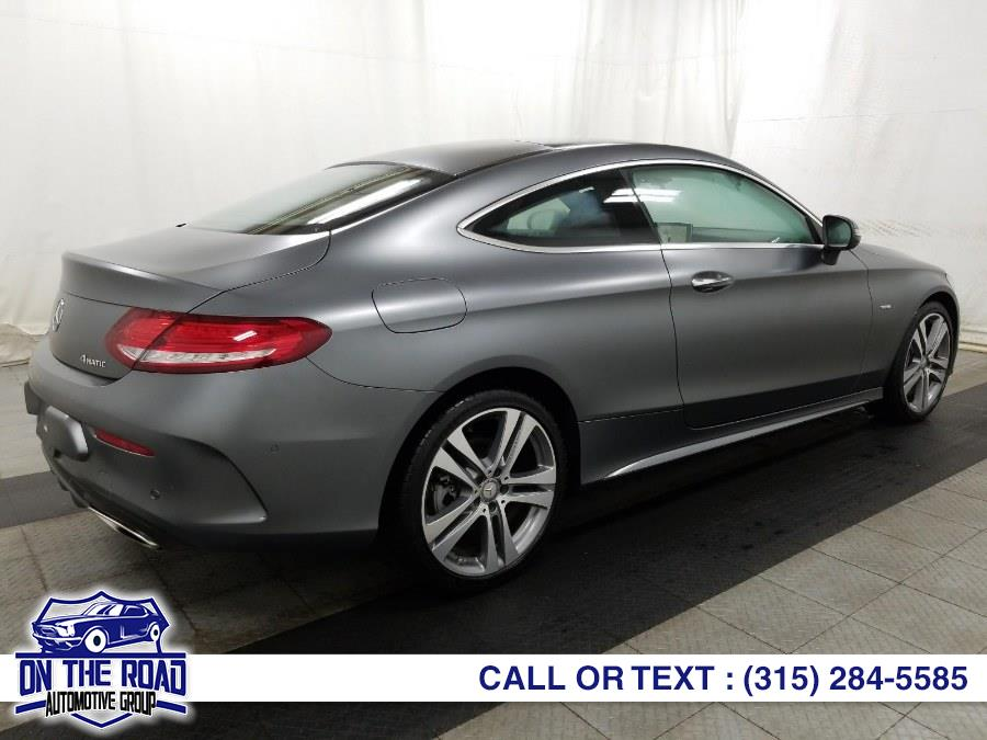 Used Mercedes-Benz C-Class C300 4MATIC Coupe 2017 | On The Road Automotive Group Inc. Bronx, New York