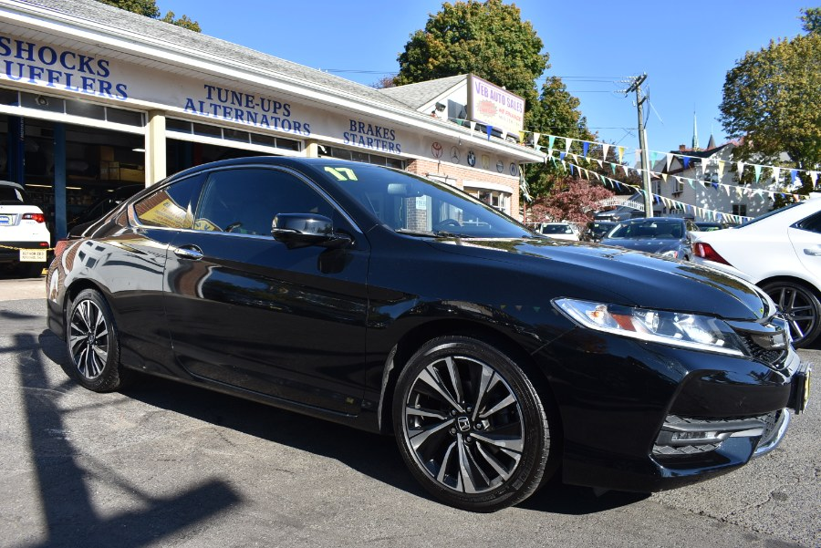 2017 Honda Accord Coupe EX-L V6 Auto, available for sale in Hartford, Connecticut | VEB Auto Sales. Hartford, Connecticut