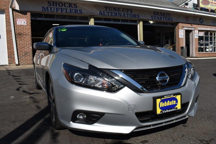 2016 Nissan Altima 4dr Sdn I4 2.5 SR, available for sale in Hartford, Connecticut | VEB Auto Sales. Hartford, Connecticut