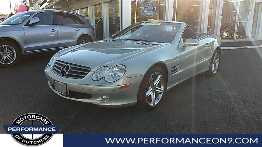 Used Mercedes-Benz SL-Class 2dr Roadster 5.0L 2003 | Performance Motorcars Inc. Wappingers Falls, New York