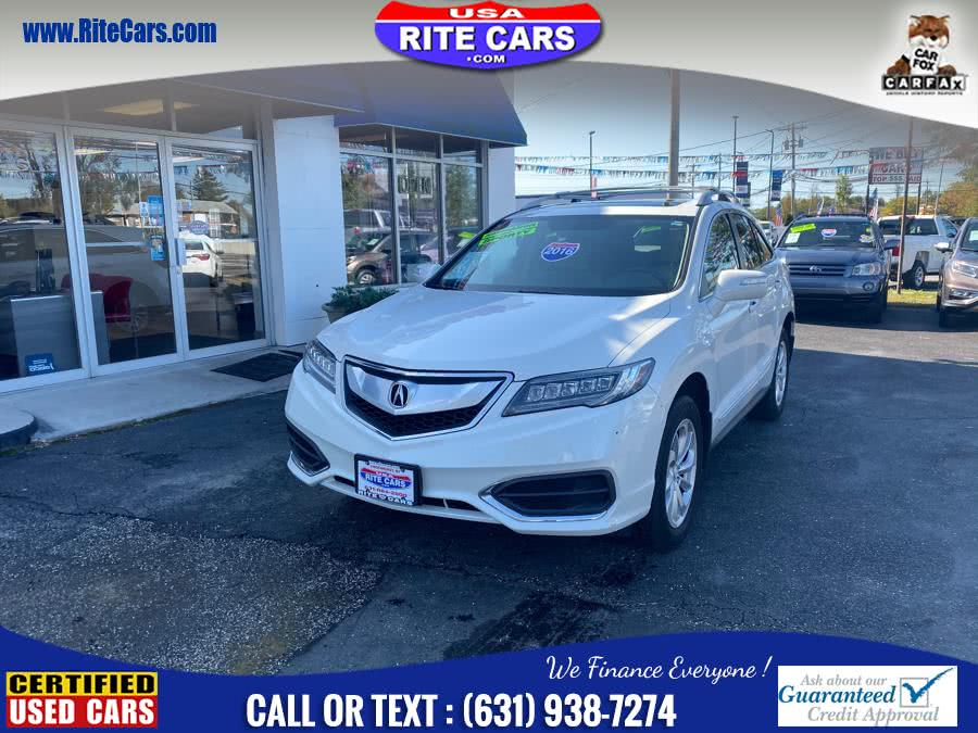 Used Acura RDX AWD 4dr Technology Pkg 2016 | Rite Cars, Inc. Lindenhurst, New York