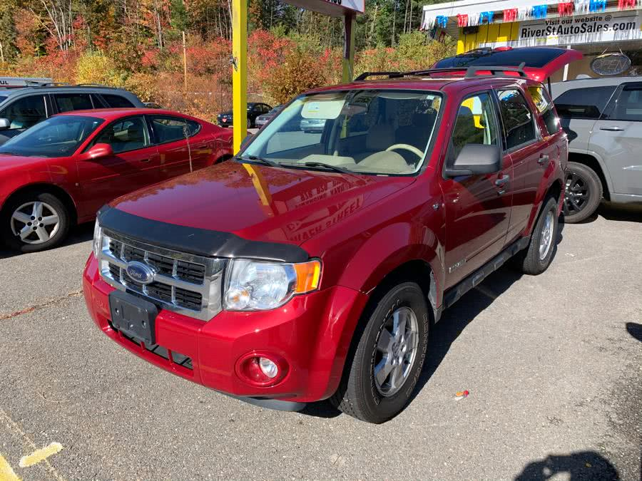 Used Ford Escape 4WD 4dr V6 Auto XLT 2008 | River Street Auto Sales. Fitchburg, Massachusetts