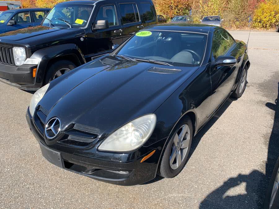 Used 2006 Mercedes-Benz SLK-Class in Fitchburg, Massachusetts | River Street Auto Sales. Fitchburg, Massachusetts
