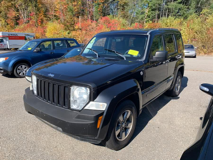 Used Jeep Liberty 4WD 4dr Sport 2008 | River Street Auto Sales. Fitchburg, Massachusetts
