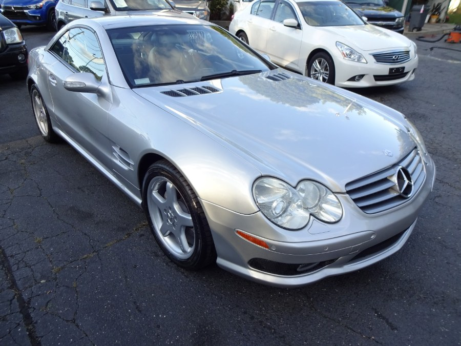 2003 Mercedes-Benz SL-Class 2dr Roadster 5.0L, available for sale in Islip, New York   Mint Auto Sales. Islip, New York