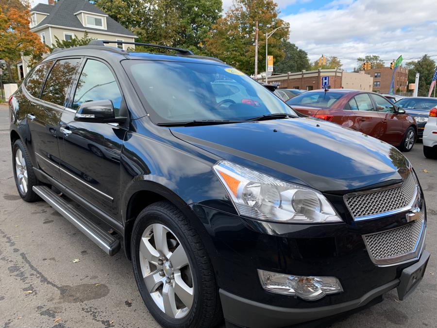 2012 Chevrolet Traverse AWD 4dr LTZ, available for sale in New Britain, Connecticut | Central Auto Sales & Service. New Britain, Connecticut