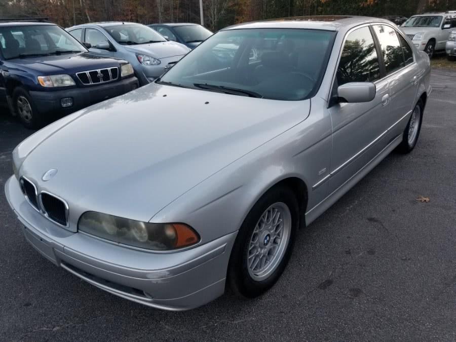 Used BMW 5 Series 525iA 4dr Sdn 5-Spd Auto 2002 | ODA Auto Precision LLC. Auburn, New Hampshire
