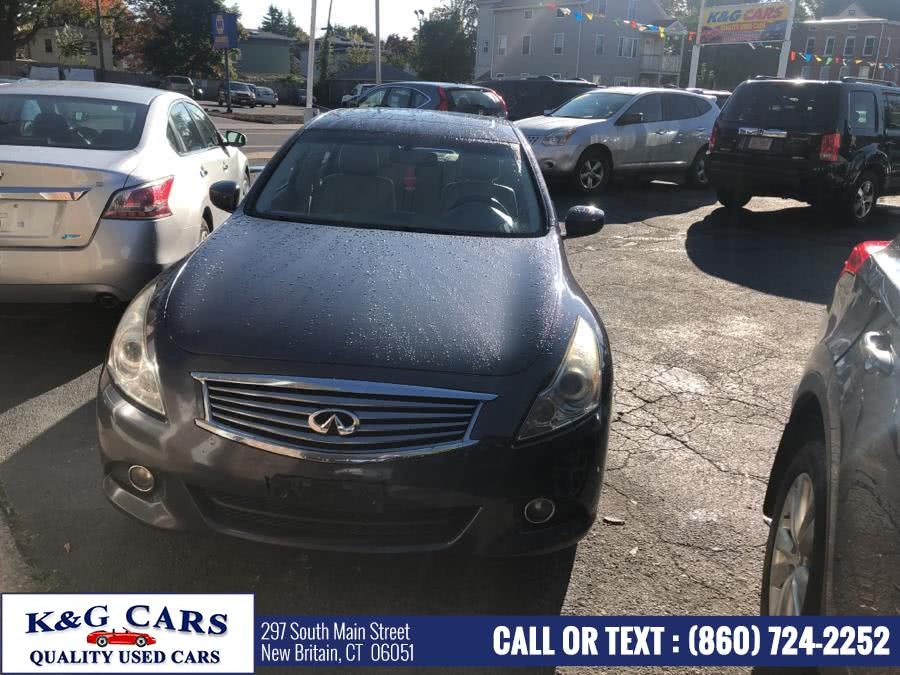 Used 2010 Infiniti G37 Sedan in New Britain, Connecticut | K and G Cars . New Britain, Connecticut