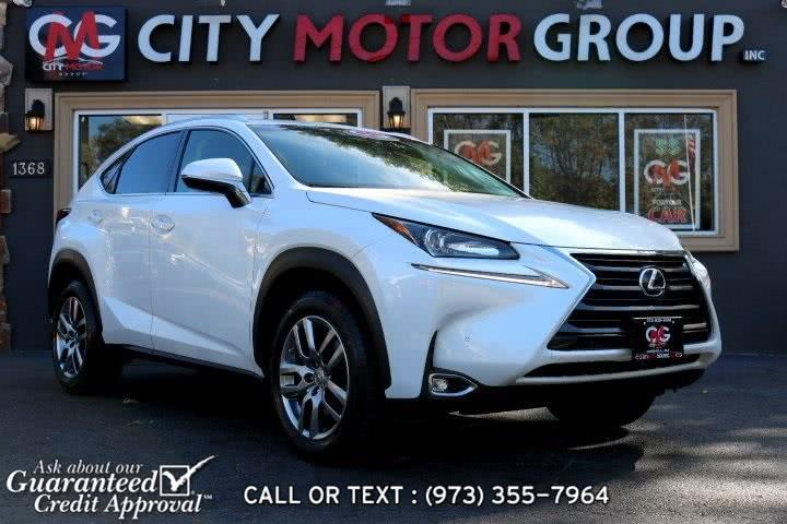 Used Lexus Nx 200t 2016 | City Motor Group Inc.. Haskell, New Jersey