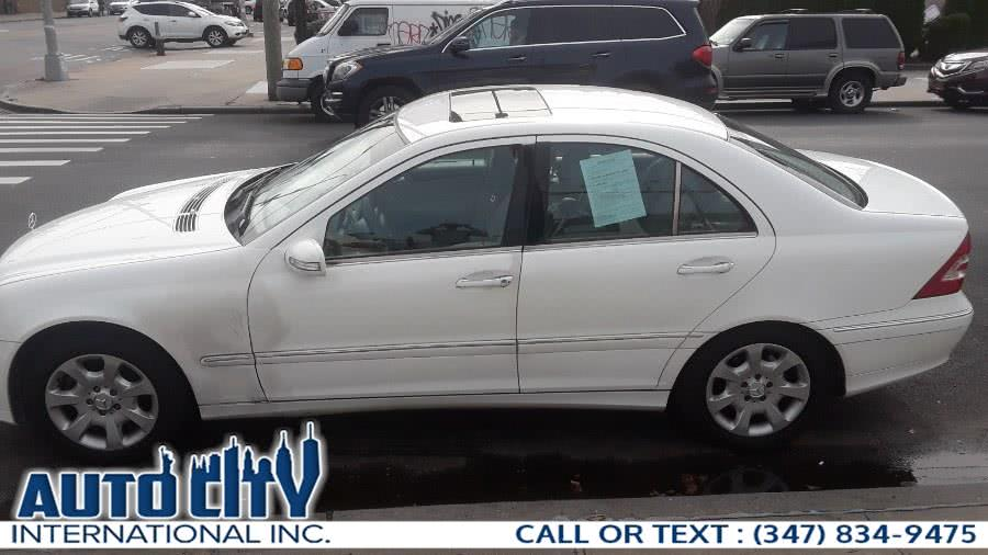 2005 Mercedes-Benz C-Class 4dr Sdn 2.6L 4MATIC, available for sale in Brooklyn, New York | Auto City Int Inc. Brooklyn, New York