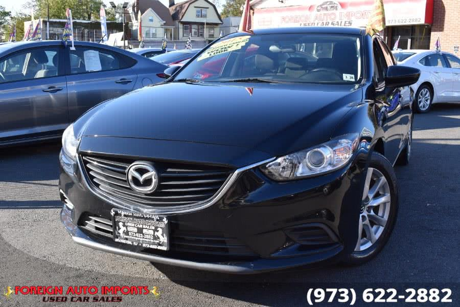 2015 Mazda Mazda6 4dr Sdn Auto i Sport, available for sale in Irvington, NJ