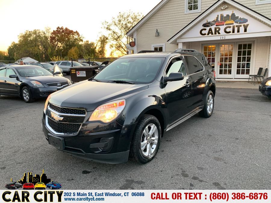 2010 Chevrolet Equinox AWD 4dr LT w/1LT, available for sale in East Windsor, Connecticut | Car City LLC. East Windsor, Connecticut