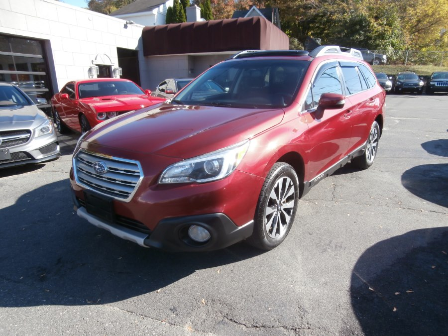2015 Subaru Outback 4dr Wgn 2.5i Limited PZEV, available for sale in Waterbury, Connecticut | Jim Juliani Motors. Waterbury, Connecticut
